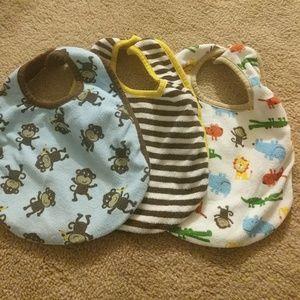 Baby bibs - 3 pack